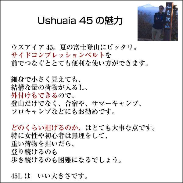 リュック リュックサック 50L ハイキング 登山バッグ バックパック ザック アコンカグア Ushuaia ウスアイア 50L|aconcagua|16