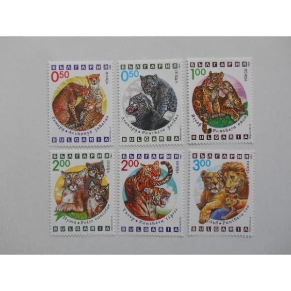 ブルガリア 切手 1992 外来 哺乳類 4036