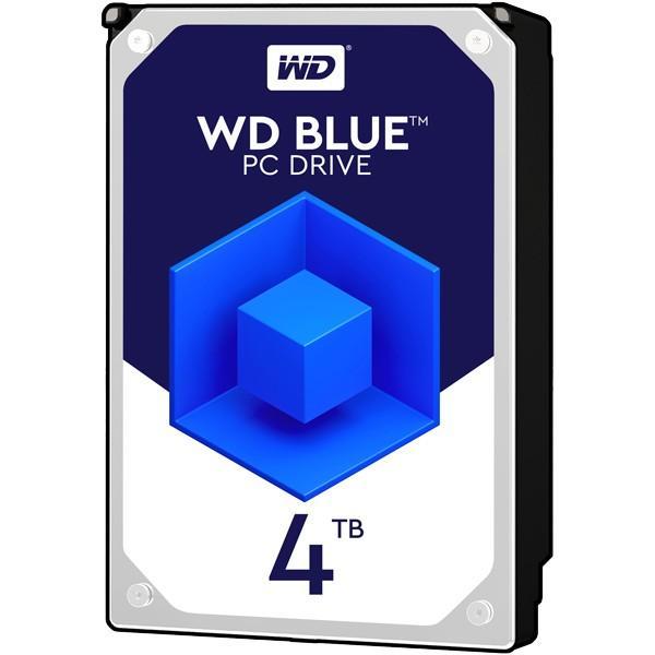 WESTERN DIGITAL Blueシリーズ 3.5インチ内蔵HDD [4TB/SATA3 6.0Gb/s/5400rpm/64MB] (WD40EZRZ-RT2)