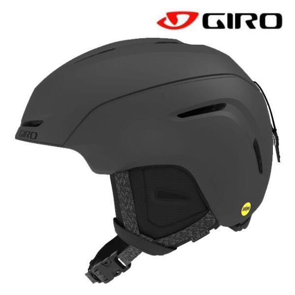 2021 GIRO ジロ ネオ ミップス NEO MIPS MATTE CHARCOAL アジアン フィット ASIAN FIT スノーボード ヘルメット SNOWBOARD HELMET