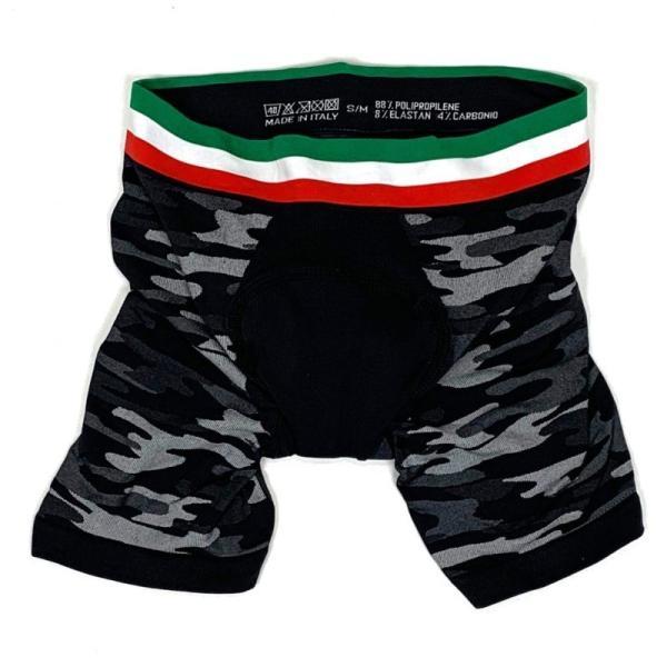 7-ITA(セブン・アイティーエー)メンズ サイクル ベースレイヤーボクサーショーツ 7ITA Baselayer Boxer Shorts(S-Mサイズ)|ad-cycle