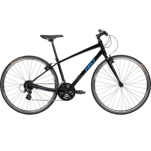 クロスバイク フェルト ベルザスピード 50 (ブラック/ブルー) 2021 FELT Verza Speed 50