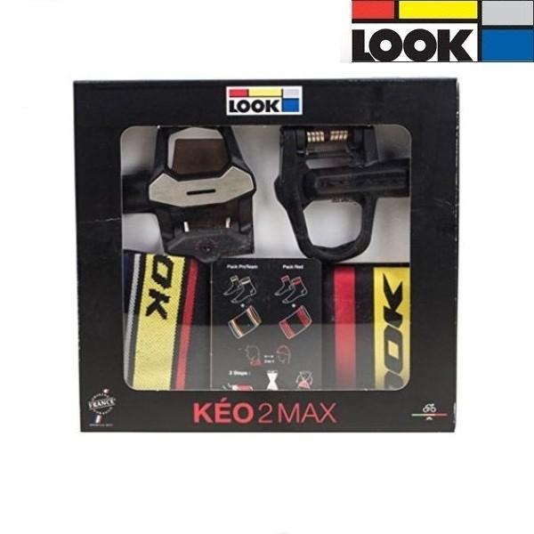 LOOK(ルック) サイクルビンディングペダル KEO 2 MAX BONUS PACK (Pro Team) L/XL|ad-cycle