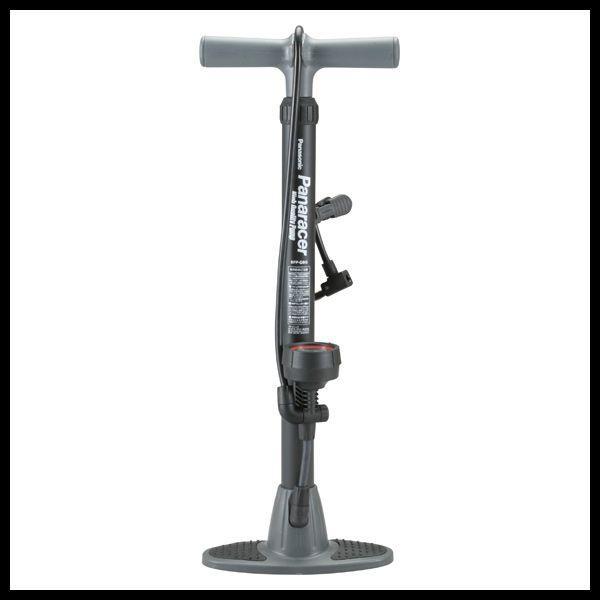 【Panaracer】 High Quality Pump 楽々ポンプ 空気圧ゲージ付 BFP-PGAB1-LH ブラック (G12)|ad-cycle