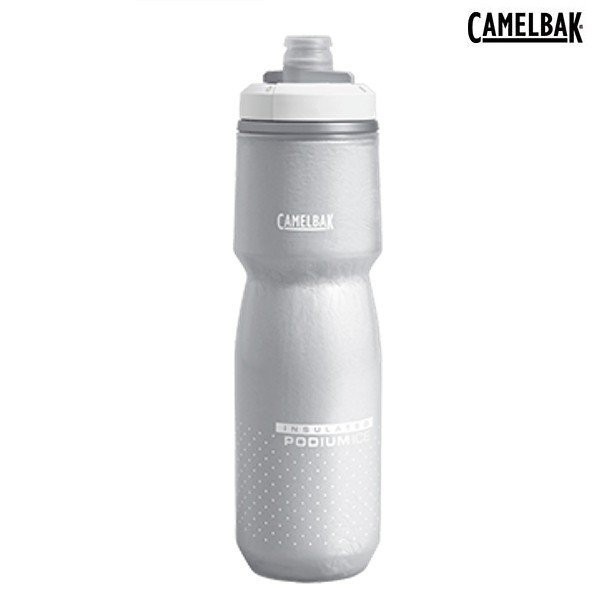 【CAMELBAK】 (キャメルバック) ポディウム アイス 620ML  (品番 #18892126) ホワイト/ホワイト|ad-cycle