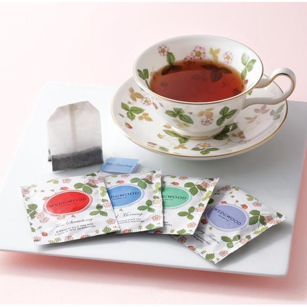 母の日 内祝い お返し ギフト コーヒー・紅茶 ウェッジウッド ワイルド ストロベリー ティーバッグ WSN-36P 送料無 adachinet-giftshop 02