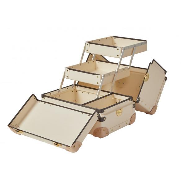 タイムボイジャー コレクションバッグL サンドベージュ コスメボックス メイクボックス シューケア用品 靴磨き 収納|adachishiki|03