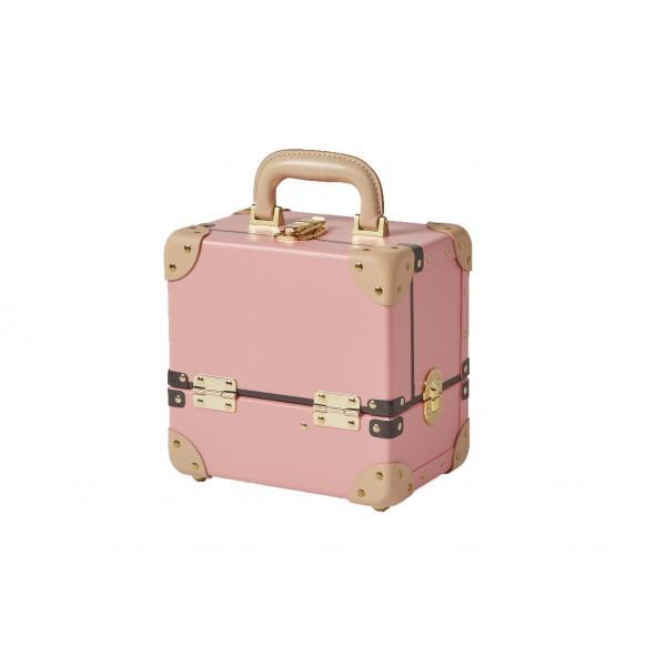 タイムボイジャー コレクションバッグS ピンク コスメボックス メイクボックス 収納ボックス|adachishiki|03