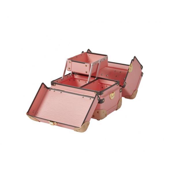 タイムボイジャー コレクションバッグS ピンク コスメボックス メイクボックス 収納ボックス|adachishiki|04