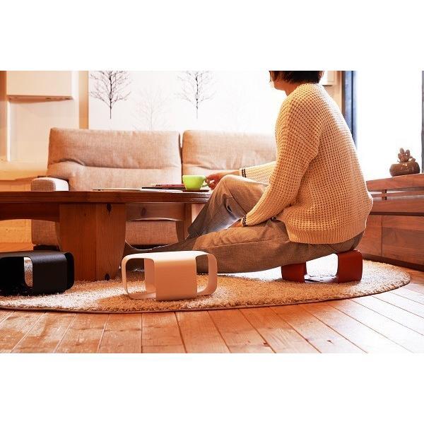 Paper Made Paper Cushion ペーパーメイドペーパークッション ホワイト 腰掛 クッション インテリア 壁掛け 自然素材|adachishiki