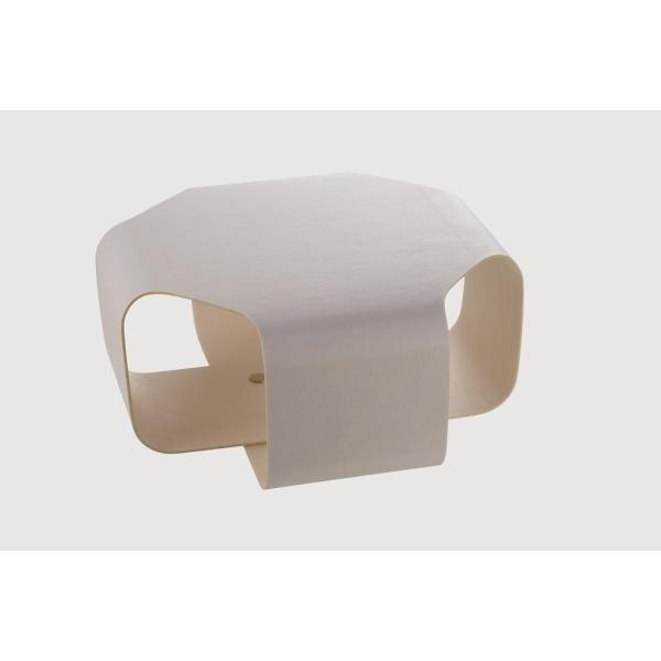 Paper Made Paper Cushion ペーパーメイドペーパークッション ホワイト 腰掛 クッション インテリア 壁掛け 自然素材|adachishiki|02