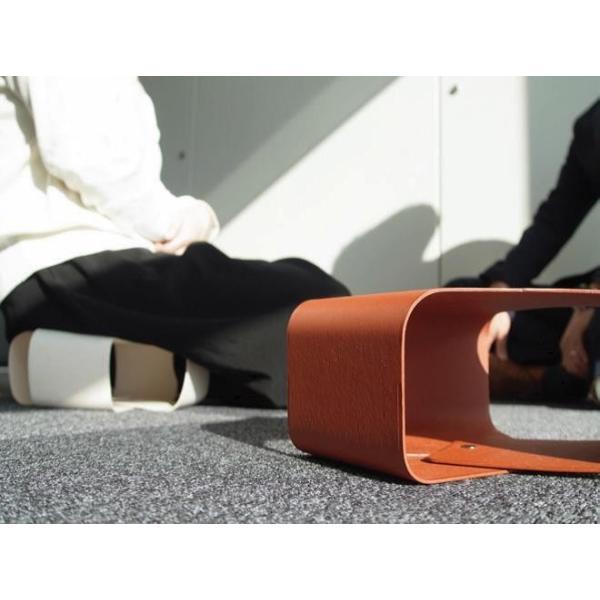 Paper Made Paper Cushion ペーパーメイドペーパークッション ホワイト 腰掛 クッション インテリア 壁掛け 自然素材|adachishiki|04