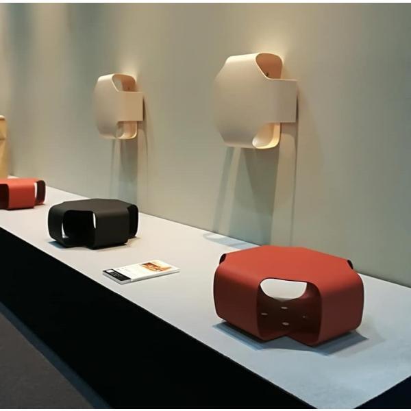 Paper Made Paper Cushion ペーパーメイドペーパークッション ホワイト 腰掛 クッション インテリア 壁掛け 自然素材|adachishiki|06