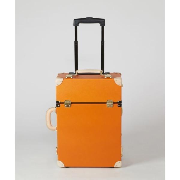 タイムボイジャートロリーバッグ プレミアムII ビターオレンジ スーツケース キャリーバッグ 旅行カバン 約33L バルカナイズドファイバー|adachishiki