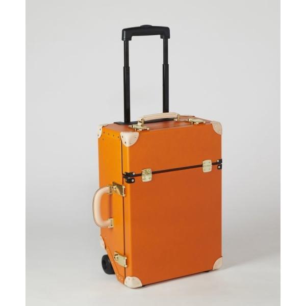 タイムボイジャートロリーバッグ プレミアムII ビターオレンジ スーツケース キャリーバッグ 旅行カバン 約33L バルカナイズドファイバー|adachishiki|02