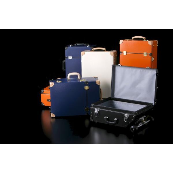 タイムボイジャートロリーバッグ プレミアムII ビターオレンジ スーツケース キャリーバッグ 旅行カバン 約33L バルカナイズドファイバー|adachishiki|11