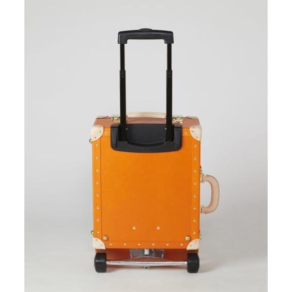 タイムボイジャートロリーバッグ プレミアムII ビターオレンジ スーツケース キャリーバッグ 旅行カバン 約33L バルカナイズドファイバー|adachishiki|04
