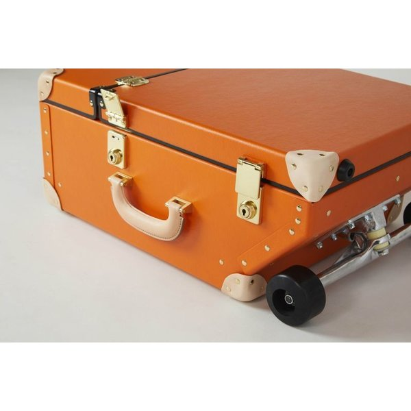 タイムボイジャートロリーバッグ プレミアムII ビターオレンジ スーツケース キャリーバッグ 旅行カバン 約33L バルカナイズドファイバー|adachishiki|06