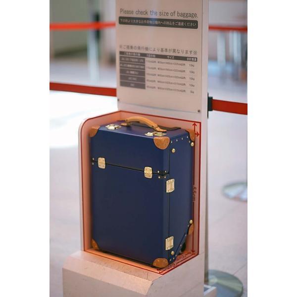 タイムボイジャートロリーバッグ プレミアムII ビターオレンジ スーツケース キャリーバッグ 旅行カバン 約33L バルカナイズドファイバー|adachishiki|08