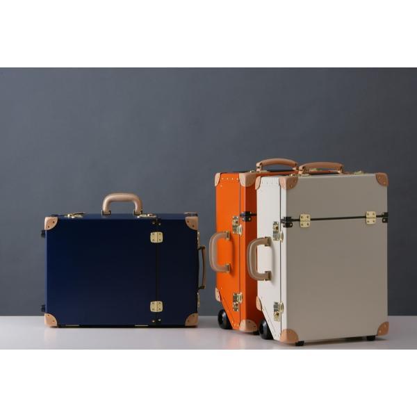 タイムボイジャートロリーバッグ プレミアムII ビターオレンジ スーツケース キャリーバッグ 旅行カバン 約33L バルカナイズドファイバー|adachishiki|10