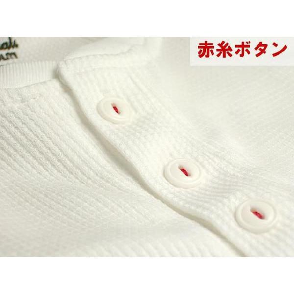 ヘンリーネック/5分袖/五分袖/Tシャツ/メンズ/無地/ワッフル|adamas|06