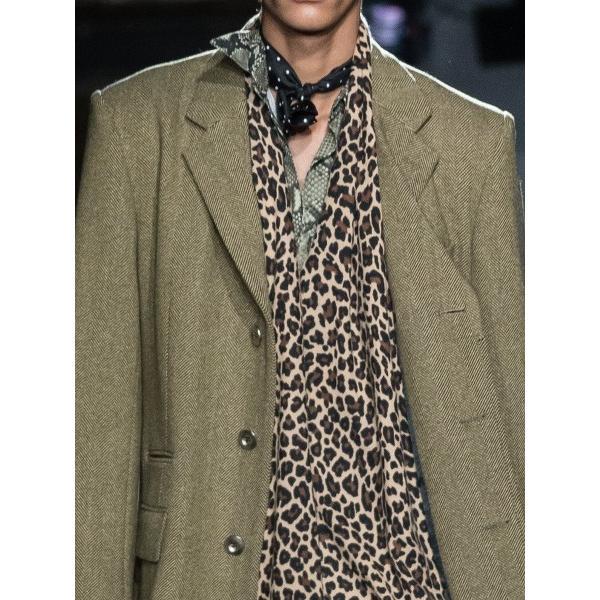 JOHNLAWRENCESULLIVAN ジョンローレンスサリバン PYTHON PRINTED COTTON REGULER COLLER SHIRT (BEIGE) パイソンシャツ|addictive|03