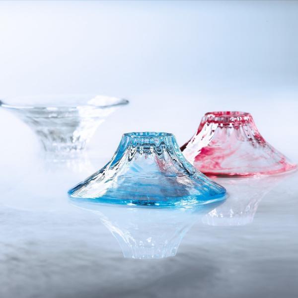 アデリアおちょこ酒器ブルーピンク60mlハレノミ富士山盃日本製化粧箱入