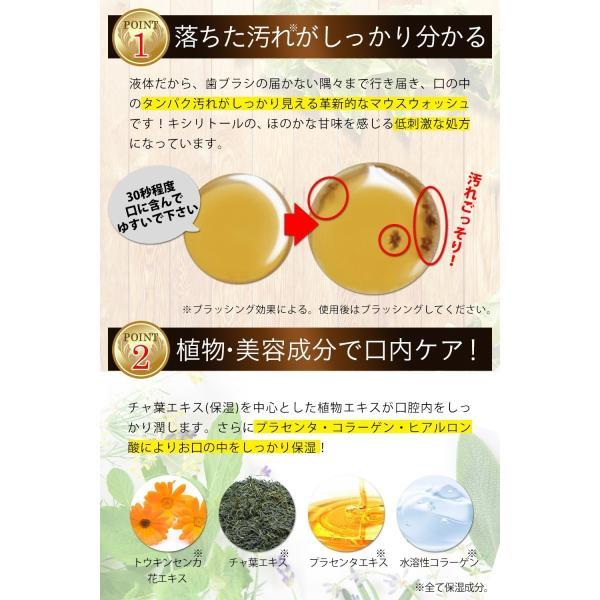 オルナ オーガニック マウスウォッシュ 歯 天然成分 オーラルケア 口腔内 洗浄 日本製 おすすめ 人気 300ml|adew|06