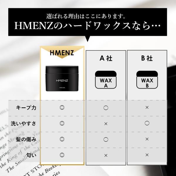 ハード ワックス メンズ HMENZ ヘアワックス 【 ハイエンドな男のための 整髪料 】「 日本製 80g 」|adew|04
