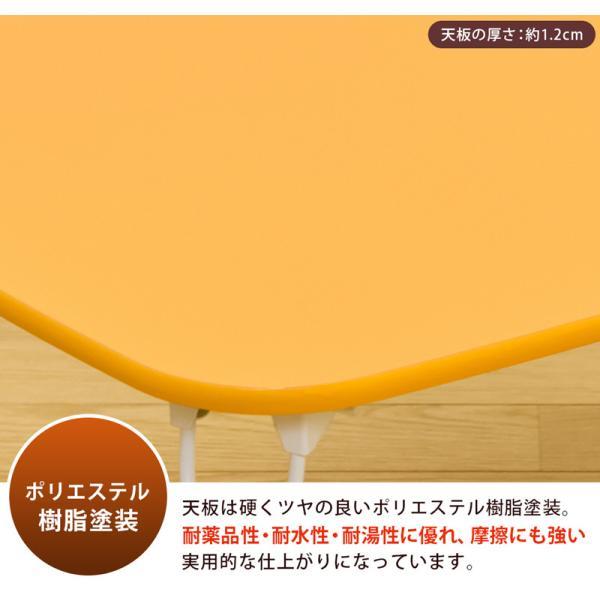 折りたたみテーブル 60cm幅 JK-M60 猫脚|adhoc-style|06