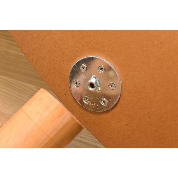 こたつテーブル 楕円 120cm モダン 丸型 継脚式SCK-V120T|adhoc-style|04