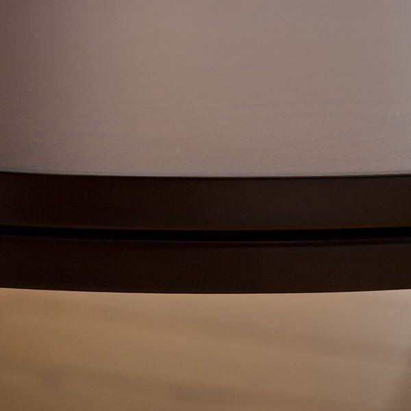 こたつテーブル 楕円 120cm モダン 丸型 継脚式SCK-V120T|adhoc-style|06