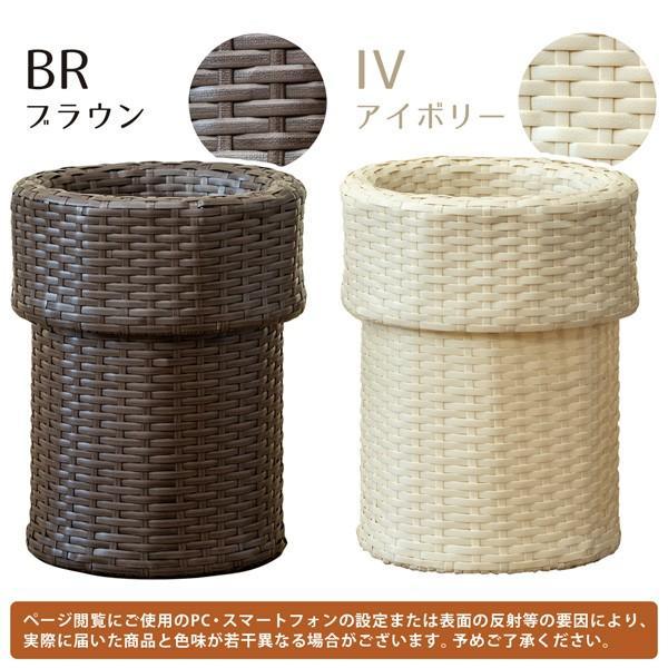 ゴミ箱 ごみ箱 ラタン調ダストボックス TMR-11|adhoc-style|03