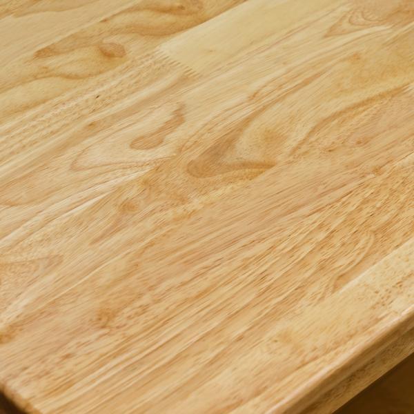 テーブル デスク 引出し付き 120cm幅 UMT-1245 天然木 ダイニング|adhoc-style|06