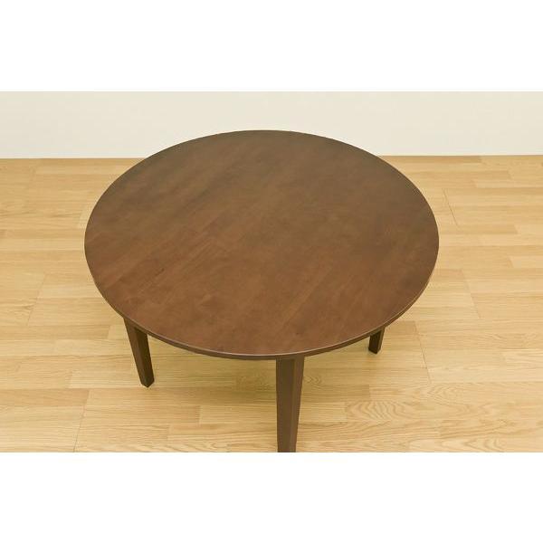 ダイニング3点セット 丸型テーブル100cm幅 チェア サニーVLS-100-86|adhoc-style|04
