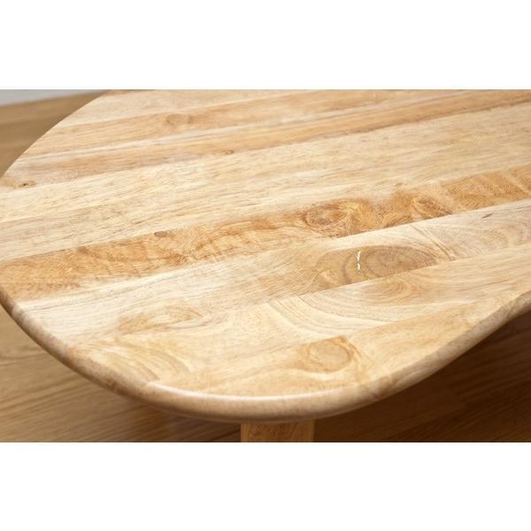 折りたたみテーブル 90cm幅 ビーンズ WFG-9005 天然木|adhoc-style|05