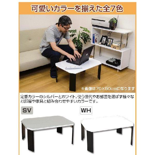 折りたたみテーブル 90cm幅 ツートンテーブル WFG-9060|adhoc-style|04
