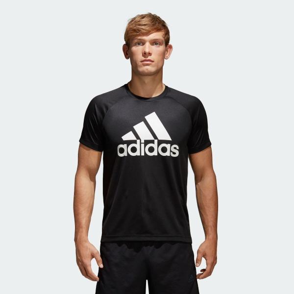全品ポイント15倍 09/13 17:00〜09/17 16:59 返品可 アディダス公式 ウェア トップス adidas D2M トレーニングビッグロゴTシャツ adidas