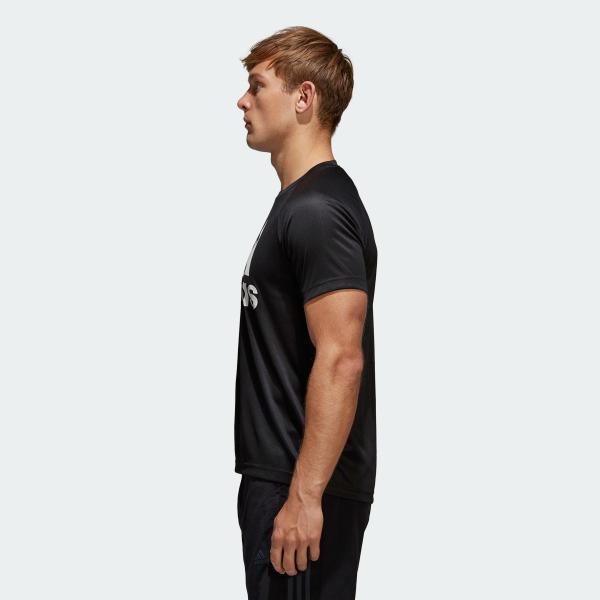 全品ポイント15倍 09/13 17:00〜09/17 16:59 返品可 アディダス公式 ウェア トップス adidas D2M トレーニングビッグロゴTシャツ adidas 02