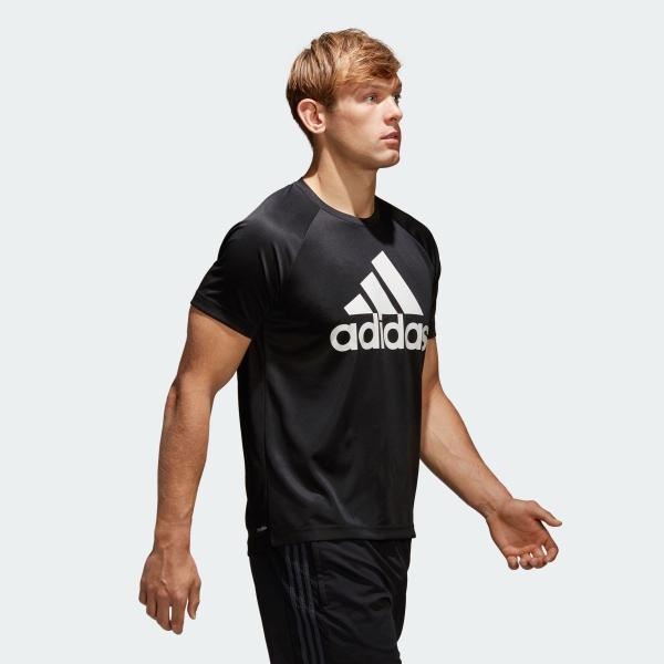 全品ポイント15倍 09/13 17:00〜09/17 16:59 返品可 アディダス公式 ウェア トップス adidas D2M トレーニングビッグロゴTシャツ adidas 04