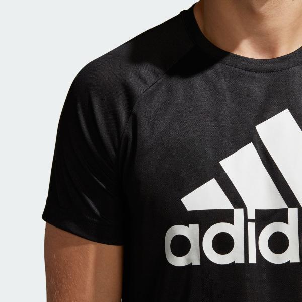 全品ポイント15倍 09/13 17:00〜09/17 16:59 返品可 アディダス公式 ウェア トップス adidas D2M トレーニングビッグロゴTシャツ adidas 07