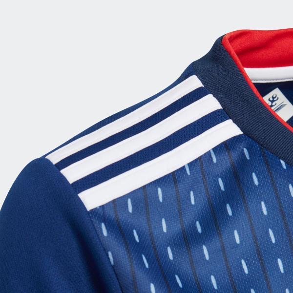 アウトレット価格 アディダス公式 ウェア トップス adidas (キッズ/子供用) サッカー日本代表 ホームレプリカユニフォーム半袖【FIFAワールドカップTM モデル】|adidas|03