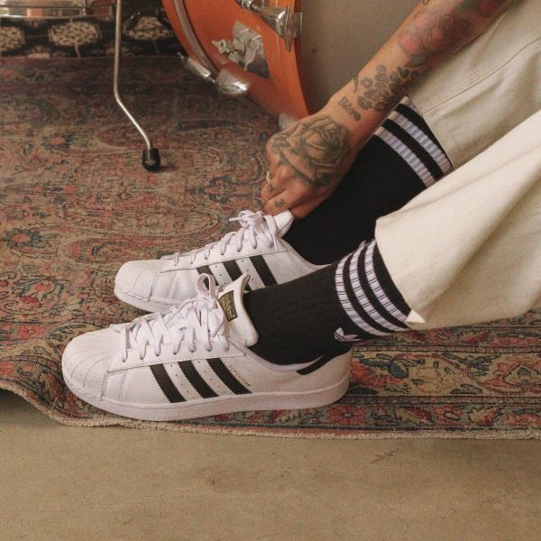 全品ポイント15倍 09/13 17:00〜09/17 16:59 返品可 送料無料 アディダス公式 シューズ スニーカー adidas スーパースター ファンデーション / SUPERSTAR FOUN…|adidas|04