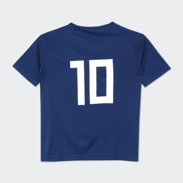 セール価格 アディダス公式 ウェア トップス adidas (子供用) No 10 サッカー日本代表 ホームレプリカTシャツ No 10|adidas|02
