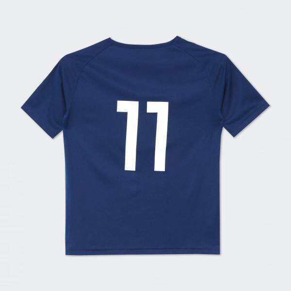セール価格 アディダス公式 ウェア トップス adidas (子供用) No 11 サッカー日本代表 ホームレプリカTシャツ No 11|adidas|02