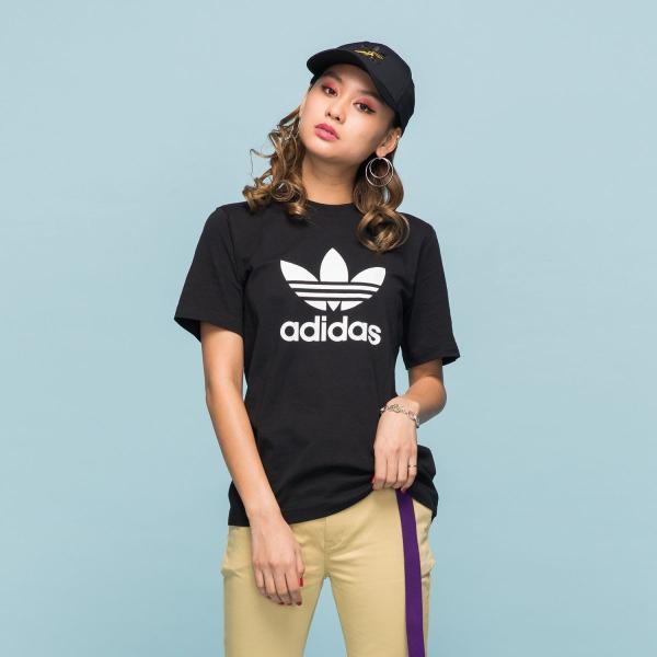 全品送料無料! 08/14 17:00〜08/22 16:59 返品可 アディダス公式 ウェア トップス adidas トレフォイル Tシャツ|adidas|02