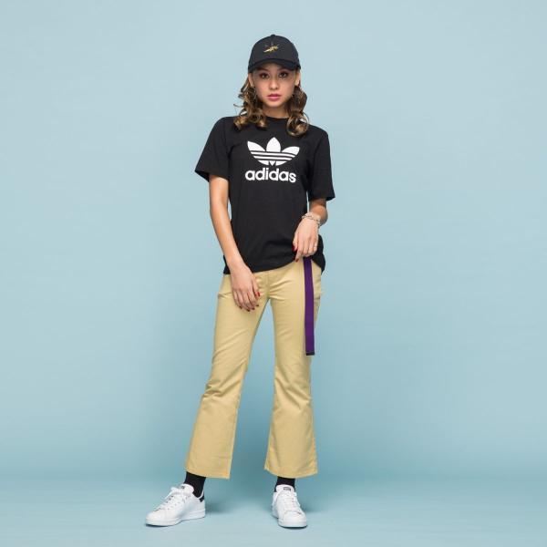全品送料無料! 08/14 17:00〜08/22 16:59 返品可 アディダス公式 ウェア トップス adidas トレフォイル Tシャツ|adidas|03