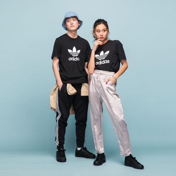 全品送料無料! 08/14 17:00〜08/22 16:59 返品可 アディダス公式 ウェア トップス adidas トレフォイル Tシャツ|adidas|05