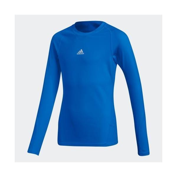 全品ポイント15倍 09/13 17:00〜09/17 16:59 セール価格 アディダス公式 ウェア トップス adidas 子供用 アルファスキン TEAM ロングスリーブシャツ|adidas