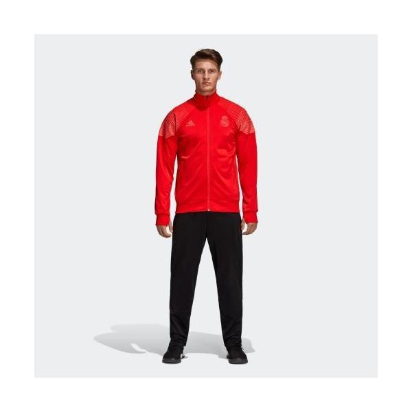 CW8705 アディダス adidas ICON REAL トップス メンズ 【公式】 サッカー ジャケット ウェア